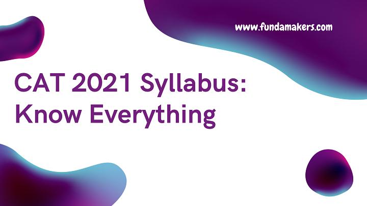 CAT-2021-Syllabus-Know-everything