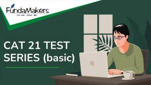 CAT 21 TEST SERIES (basic)