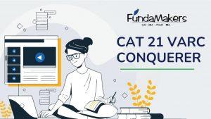 CAT 21 VARC CONQUERER